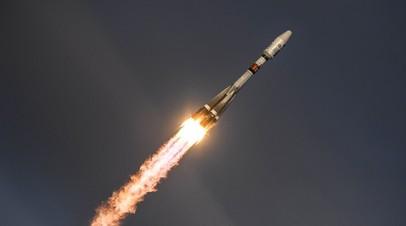 В стартовавшую с Плесецка ракету «Союз-2.1б» ударила молния