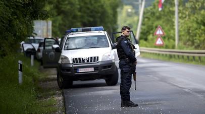 «Пытался помешать полиции»: задержанный в Косове россиянин освобождён