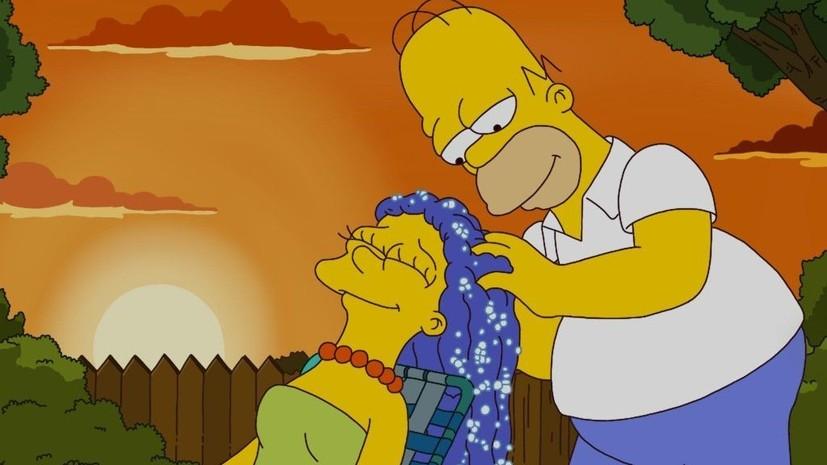 В сети появился анонс финала Лиги чемпионов в стиле мультсериала «Симпсоны»