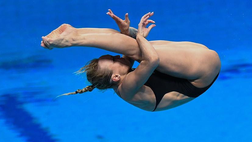 Многократная чемпионка Европы по прыжкам в воду Бажина завершила карьеру