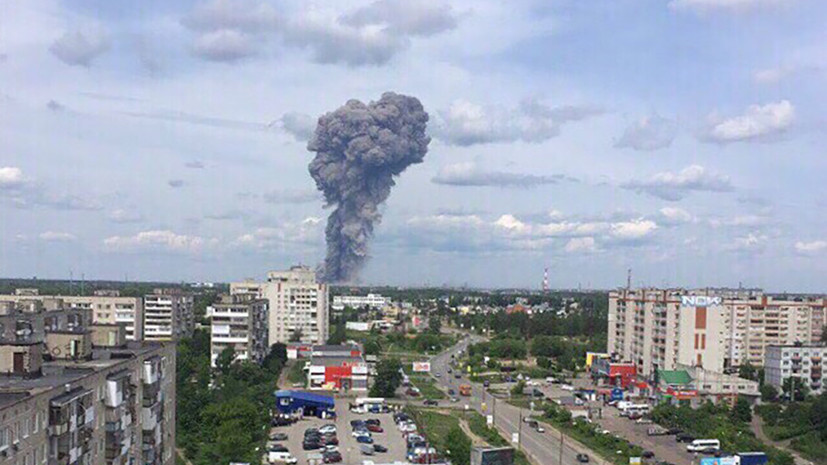 «Устранить в кратчайшие сроки»: в Дзержинске ликвидируют последствия взрывов на оборонном заводе