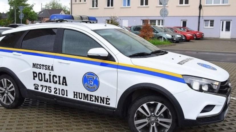 Lada Vesta SW Cross поступила на службу в полицию словацкого Гуменне
