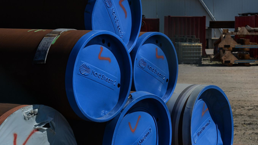 «Газпром»: газопровод «Северный поток — 2» построили почти на 60%