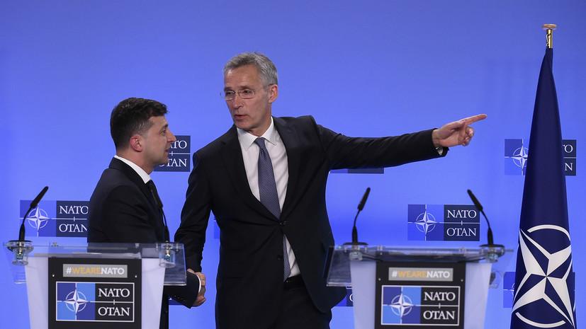 Генсек НАТО анонсировал учения с Украиной в Чёрном море