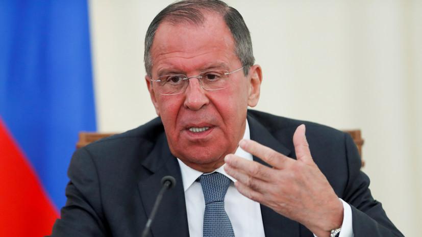 Лавров оценил перспективу проведения переговоров Путина и Зеленского