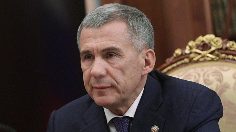 Президент Татарстана встретился с делегацией из Швейцарии