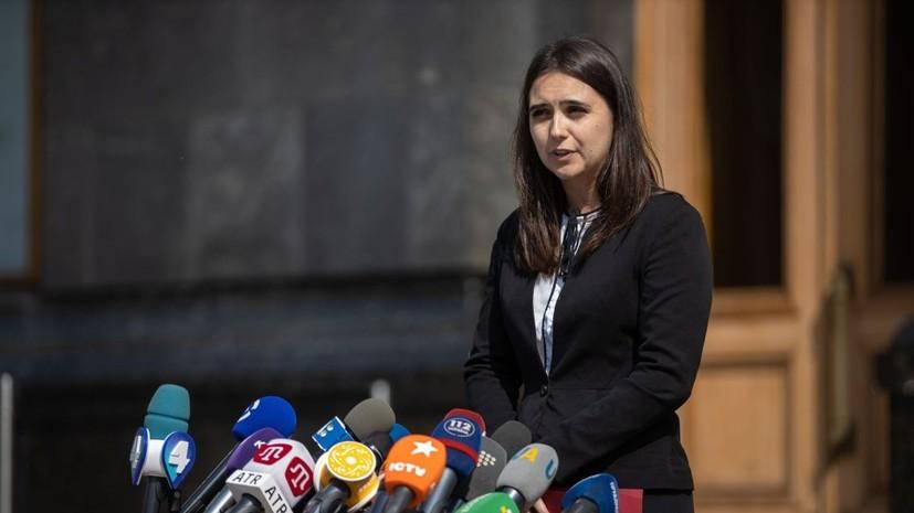 Пресс-секретарь Зеленского сообщила о травле после инцидента с журналистом