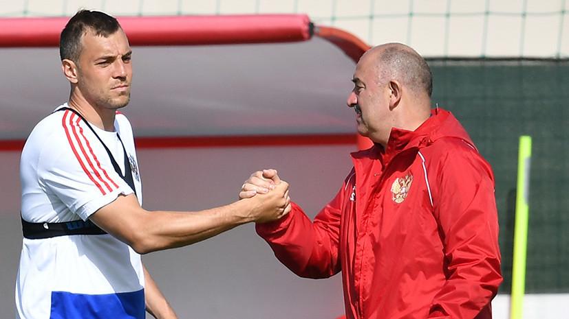 «Если каждый будет думать о голах, начнётся бардак»: Дзюба и Черчесов об отборочном матче Евро-2020 с Сан-Марино
