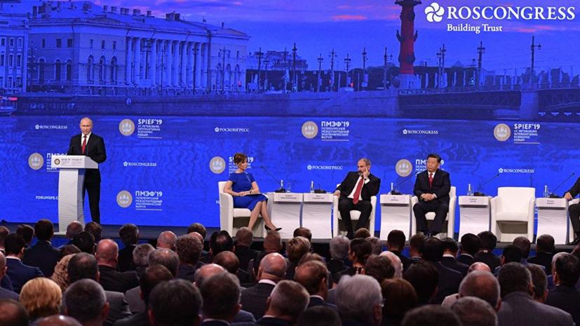 Путин назвал ситуацию с Huawei попыткой вытолкнуть компанию с рынка