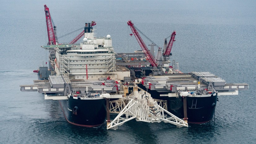 Миллер оценил сроки строительства участка «Северного потока — 2» в Дании
