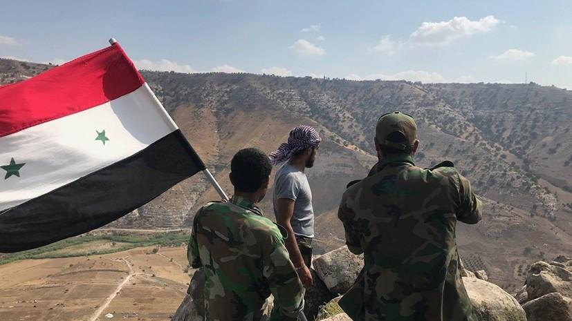 В ЦПВС рассказали об отражении армией САР атаки террористов