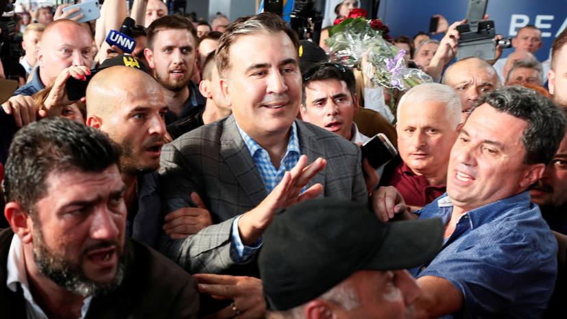 Партия Саакашвили будет самостоятельно участвовать в выборах в Раду