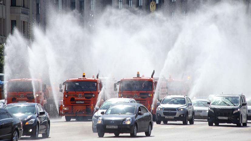 «Аномальная погода»: в Москве объявлен «оранжевый» уровень опасности из-за жары