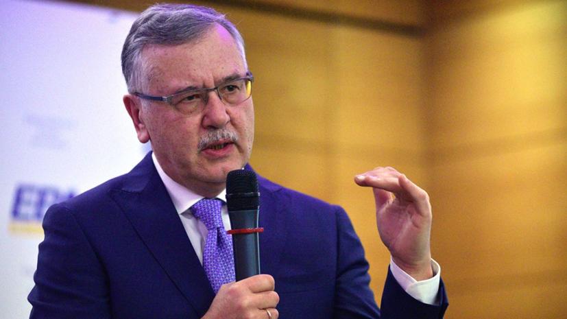 Экс-министр обороны Украины предложил партии Саакашвили объединиться