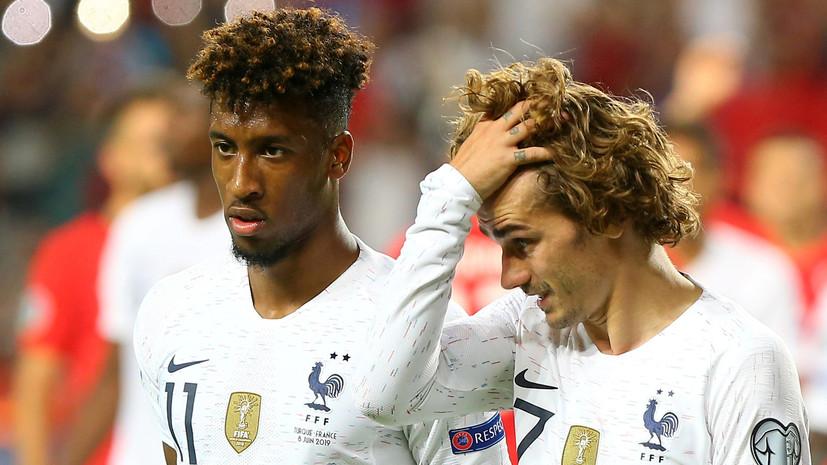 Поражение Франции в Стамбуле, победа Германии в Минске, три гола Италии за 10 минут: обзор матчей квалификации Евро-2020