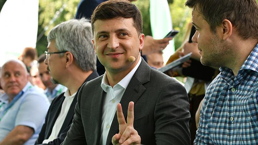 «Использует кредит недоверия к старой власти»: Зеленский пообещал отправить «в нокаут» прежнюю политическую систему