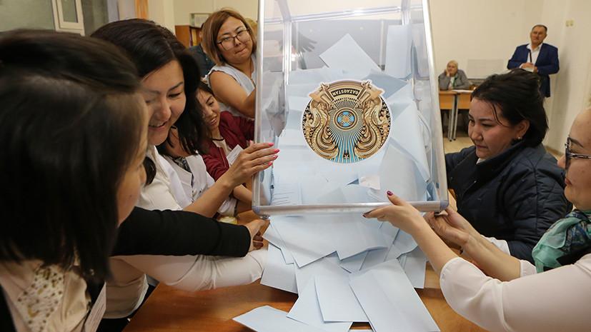 «Путь прогресса и созидания»: на выборах президента Казахстана побеждает Токаев