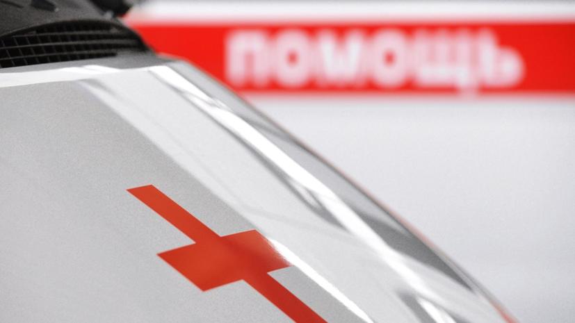 Пять человек пострадали при столкновении фуры с колонной МЧС под Тулой