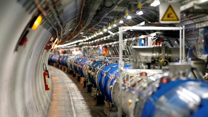 Медведева впечатлил Большой адронный коллайдер