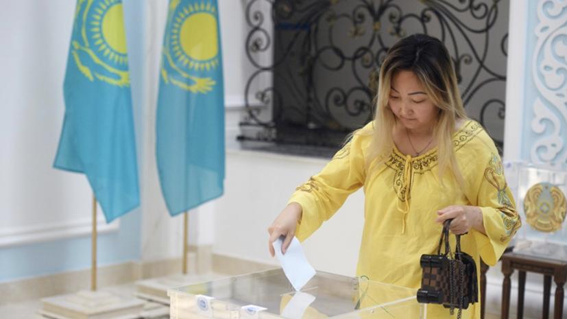 ЦИК: Токаев одержал победу на выборах президента Казахстана