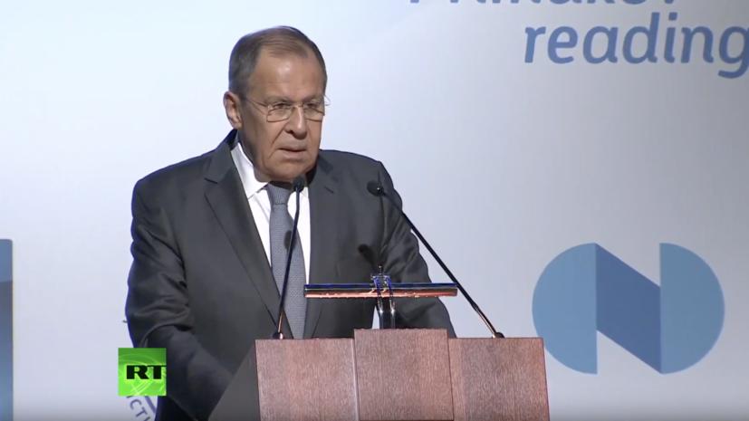 Лавров заявил о попытке США разрушить режимы контроля над вооружениями