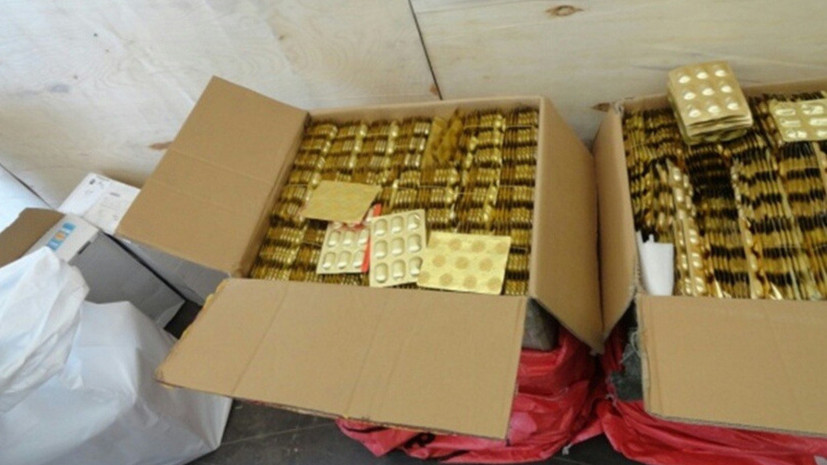 В Курганской области задержали крупную партию сильнодействующих веществ из Казахстана