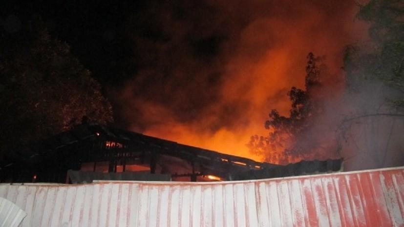 По факту пожара в психбольнице Одессы возбуждено два дела