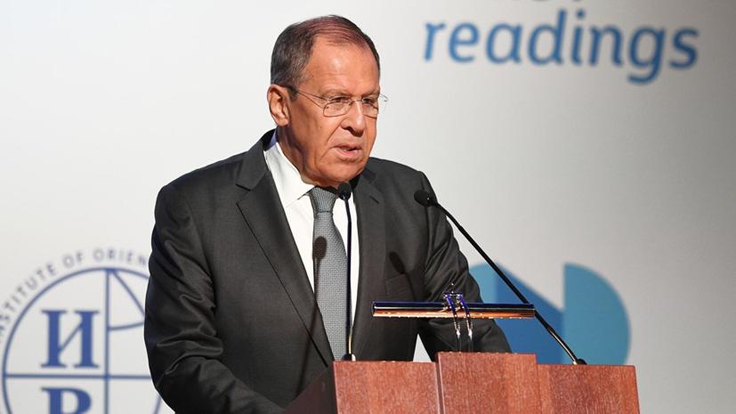 Лавров: Россия и США должны сделать совместное заявление о недопустимости ядерной войны
