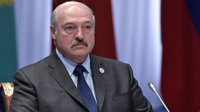 Лукашенко призвал «привести в чувство» Белгидромет