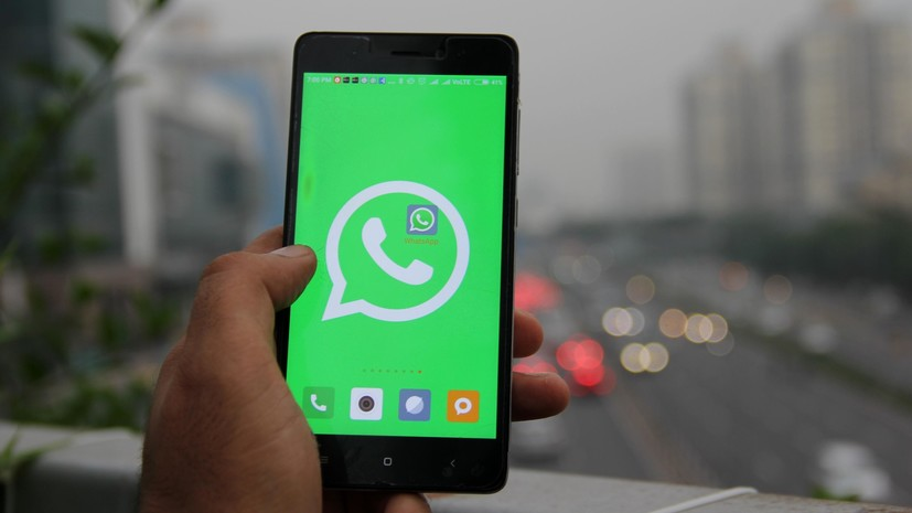 Замассовую рассылку сообщений WhatsApp начнет подавать всуд