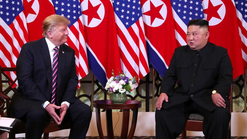 Трамп заявил, что получил «очень тёплое» письмо от Ким Чен Ына