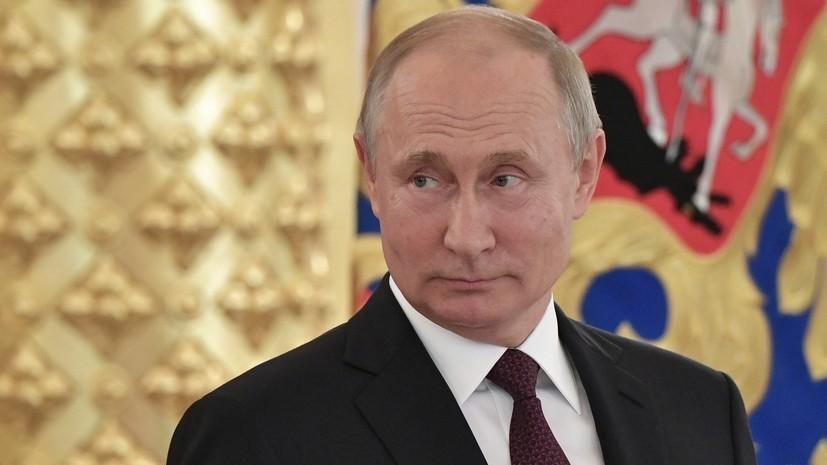 Путин рассмотрит вопрос об увольнении генералов из-за дела Голунова