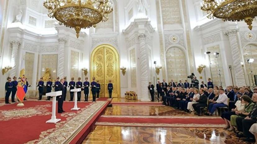 Путин поздравил россиян с Днём России