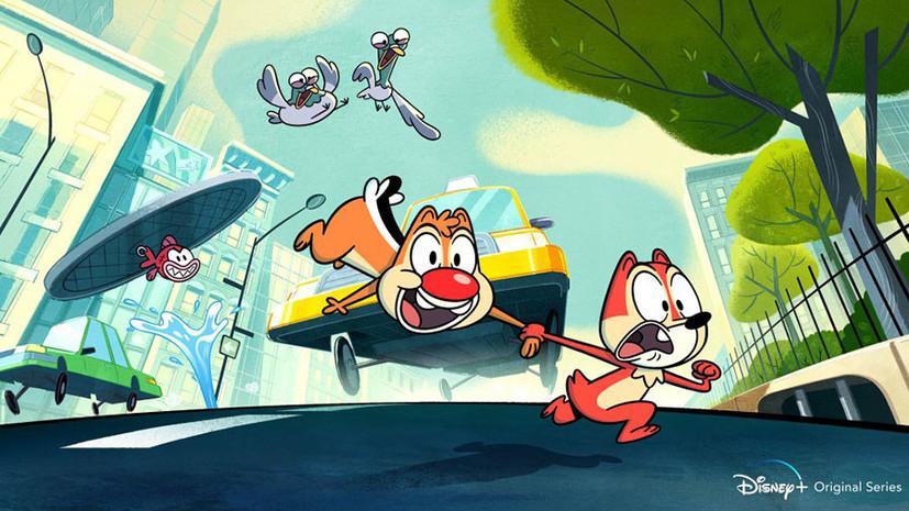 Спешат на помощь: Disney перезапустит мультфильм «Чип и Дейл»