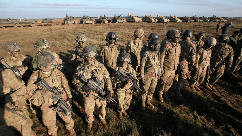 Польша создаст инфраструктуру для присутствия военных США