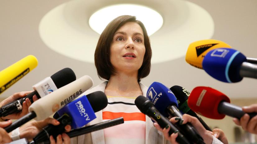 Премьер Молдавии выразила надежду на улучшение сотрудничества с Россией