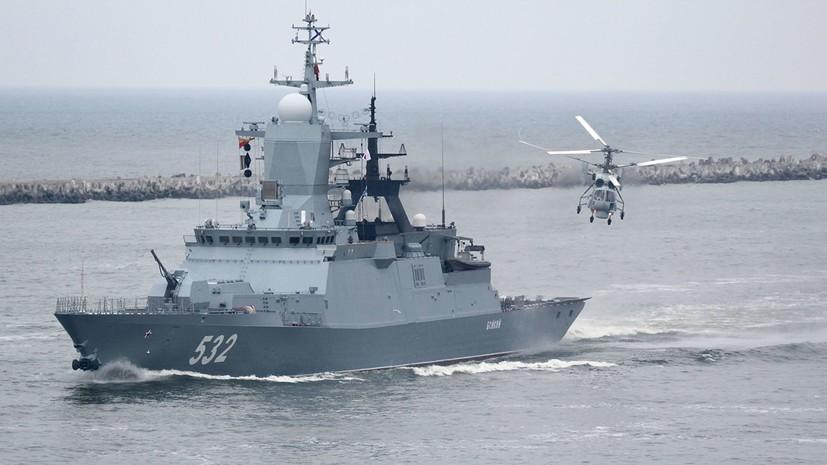 Балтийский флот России проконтролирует учения НАТО Baltops