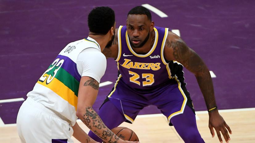 ESPN: «Лейкерс» договорился с «Нью-Орлеаном» об обмене Дэвиса