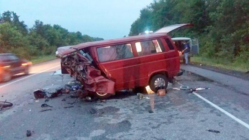 По факту ДТП с восемью погибшими в Воронежской области возбуждено дело