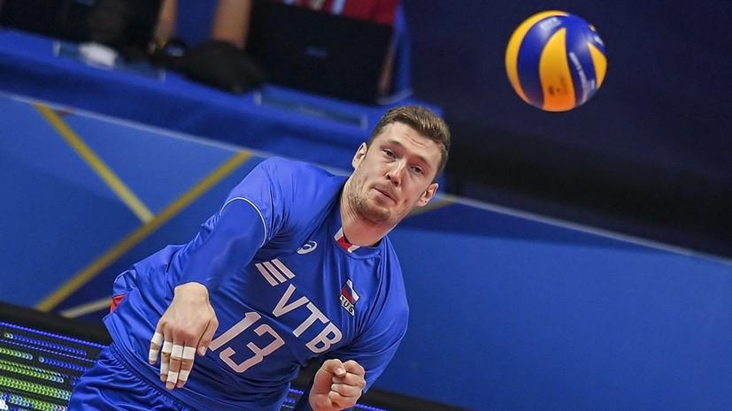 Волейболист Мусэрский, возможно, успеет восстановиться к отборочному турниру на ОИ-2020
