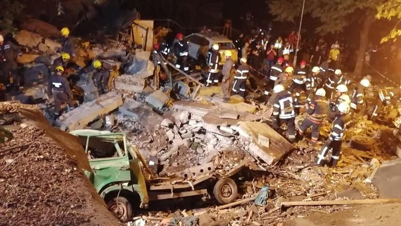 В Киеве завели дело после взрыва в центре города