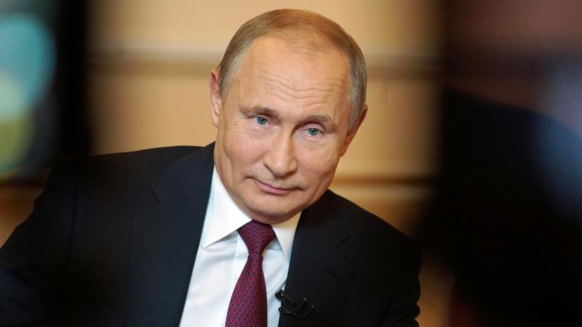 Песков рассказал о выжидательной позиции Путина в отношении Зеленского