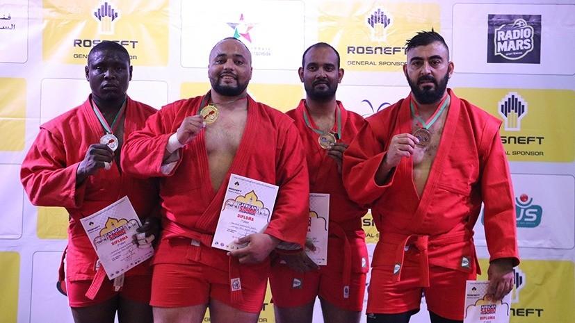 Сборная Марокко установила новый рекорд на чемпионате Африки по самбо