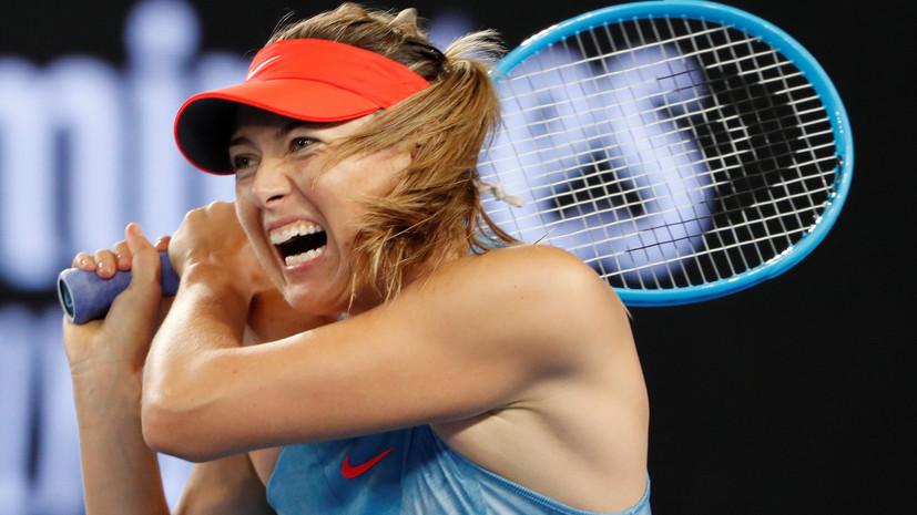 Шарапова заняла 85-е место в обновлённом рейтинге WTA