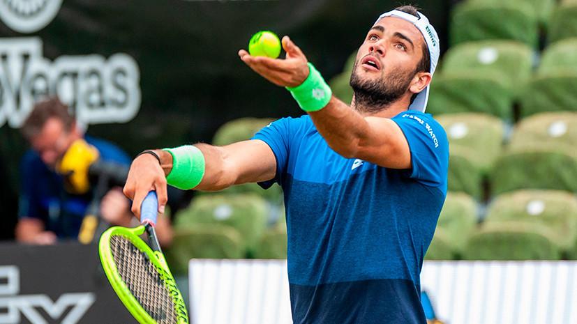 Хачанов сохранил место в первой десятке рейтинга ATP