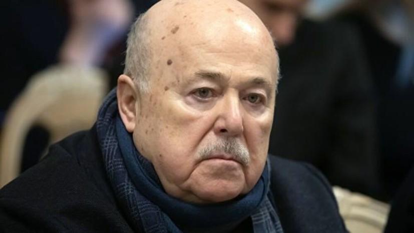 СМИ сообщили о госпитализации Александра Калягина
