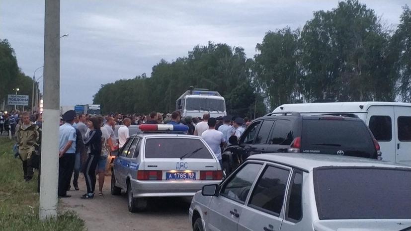 Песков: Путина проинформировали о ситуации в Чемодановке
