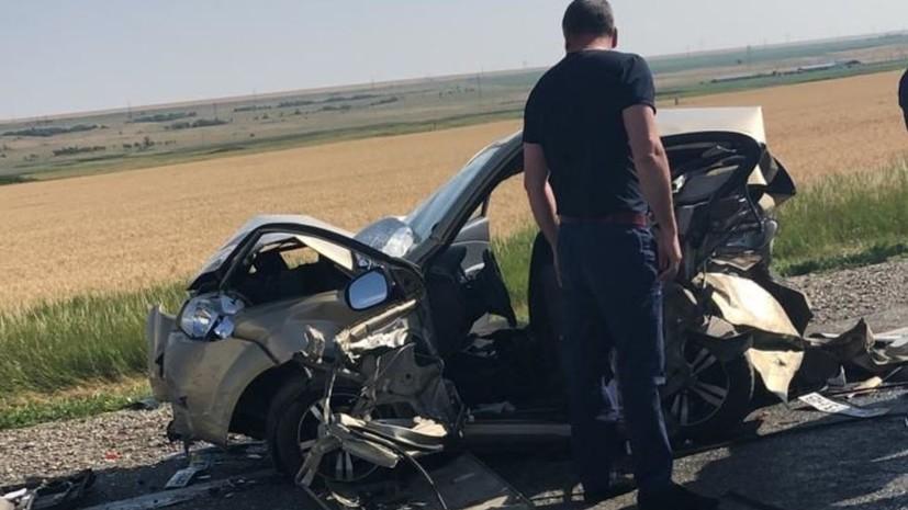 На Ставрополье шесть человек пострадали в крупном ДТП