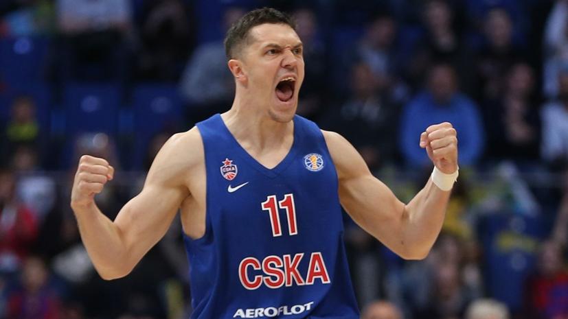 ЦСКА продлил контракт с баскетболистом Антоновым