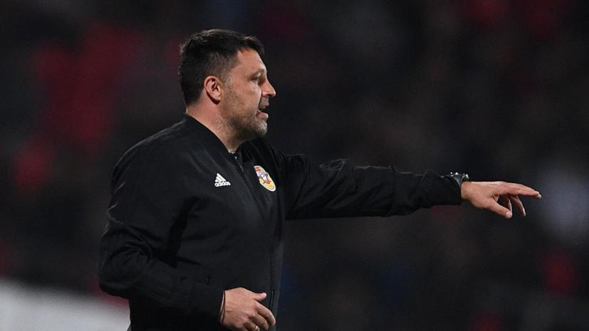 Черевченко: на сборах в Туле «Арсенал» могут пополнить новые футболисты